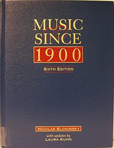 9780028647876: Music Since 1900