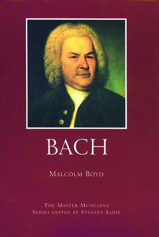 9780028648132: Bach (Master Musicians Series)