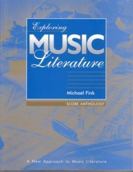 9780028648460: Exploring Music Literature - Score Anthology (Exploring Music Literature, Score Anthology)