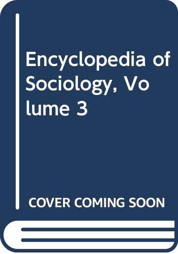 9780028648514: Encyclopedia of Sociology, Vol. 3, 2nd Edition