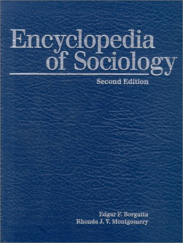 9780028648521: Encyclopedia of Sociology, Volume 4