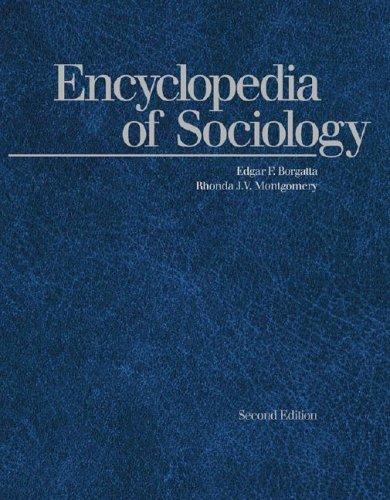 9780028648538: Encyclopedia of Sociology (5 Volume Set)