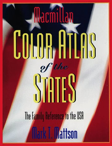 9780028648897: MacMillan Color Atlas of the States