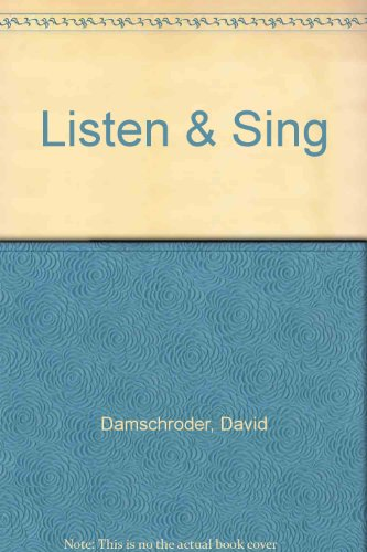 9780028649337: Listen & Sing