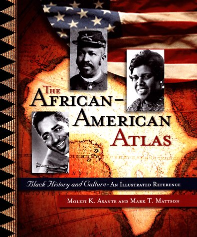 9780028649856: The African-American Atlas: Black History and Culture--An Illustrated Reference
