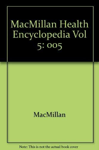 Macmillan Health Encyclopedia, Vol. 5: Emotional and Mental Health: MacMillan