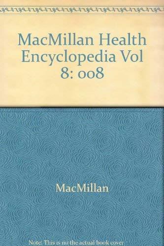 9780028650470: Macmillan Health Encyclopedia, Vol. 8: Safety and Environmental Health