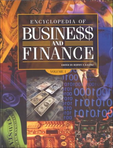 9780028650654: Encyclopedia of Business and Finance
