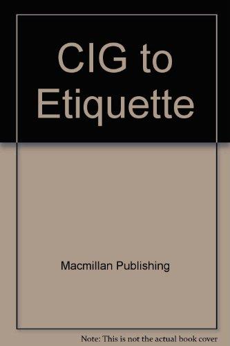 9780028651422: CIG to Etiquette