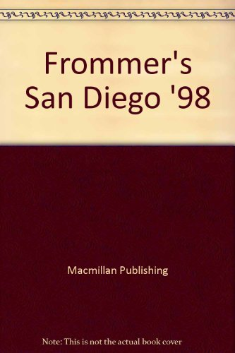 9780028651705: Frommer's San Diego '98
