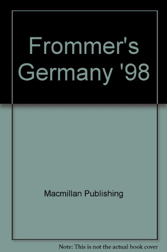 9780028651958: Frommer's Germany '98