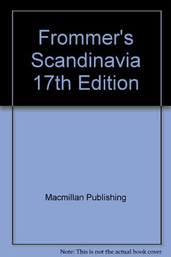 9780028652276: Frommer's Scandinavia, 17th Edition