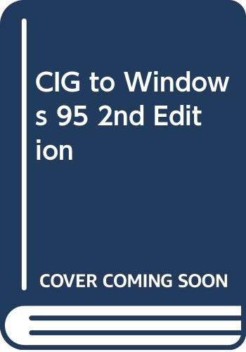 9780028652351: CIG to Windows 95, 2nd Edition