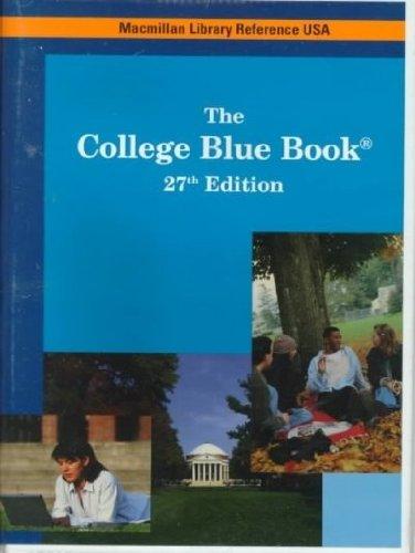 9780028653068: College Blue Book
