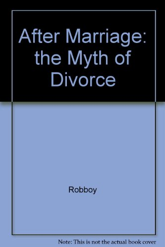 9780028653716: Aftermarriage: The Myth of Divorce