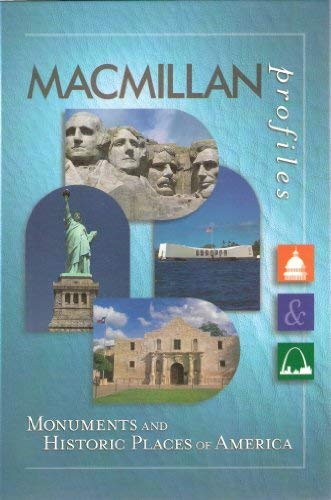 9780028653747: MacMillan Profiles: Monuments & Historic Places (1 Vol.)