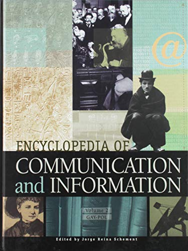9780028653846: Encyclopedia of Communication and Information, Vol. 2
