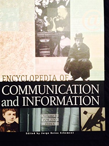 9780028653853: Encyclopedia of Communication and Information, Vol. 3