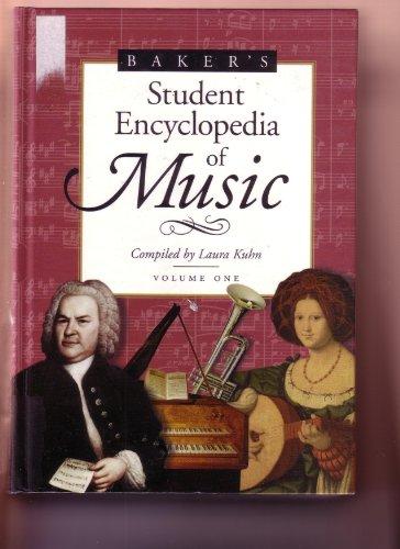 9780028654157: Baker's Student Encyclopedia of Music: 1