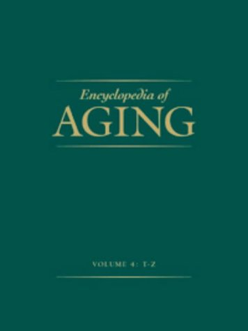 9780028654720: Encyclopedia of Aging