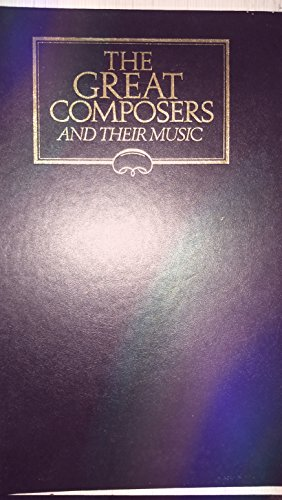 9780028654744: The Great Composers and Thier Works: 1