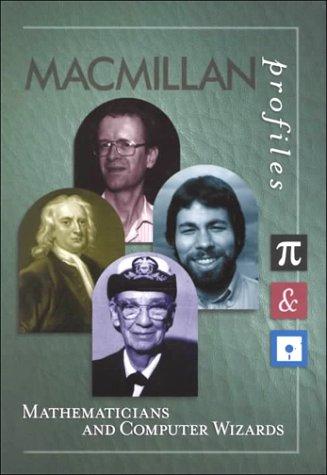 9780028655017: MacMillan Profiles: Mathematics & Computer Wizards (1 Vol.)