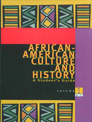 9780028655314: African-American Culture and History: A Student's Guide
