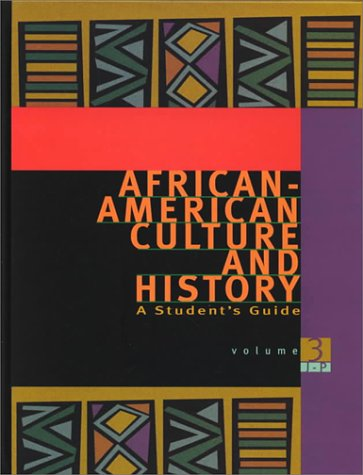 9780028655345: African-American Culture and History: A Student's Guide