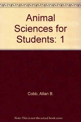 9780028655574: Animal Sciences for Students: 1