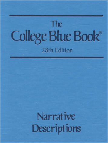 9780028655758: The College Blue Book