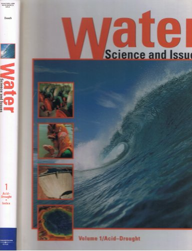 9780028656120: Water: Science and Issues: 001