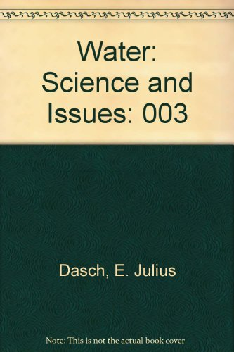 9780028656144: Water: Science and Issues: 003