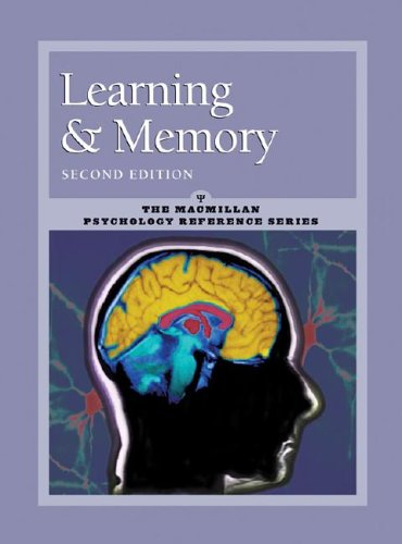 9780028656199: Learning and Memory: Macmillan Psychology Reference Series (Psychology Reference Series, 2)