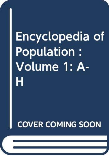 9780028656786: Encyclopedia of Population: 1