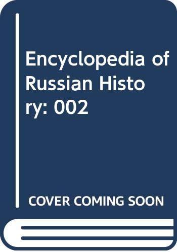 9780028656953: Encyclopedia of Russian History: 002