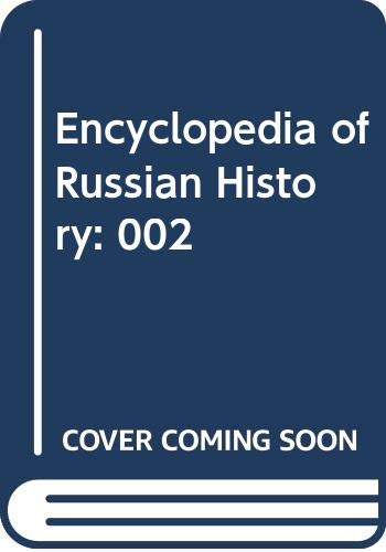 9780028656953: Encyclopedia of Russian History: 002