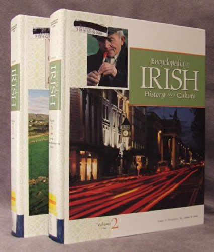 9780028656991: Encyclopedia of Irish History and Culture