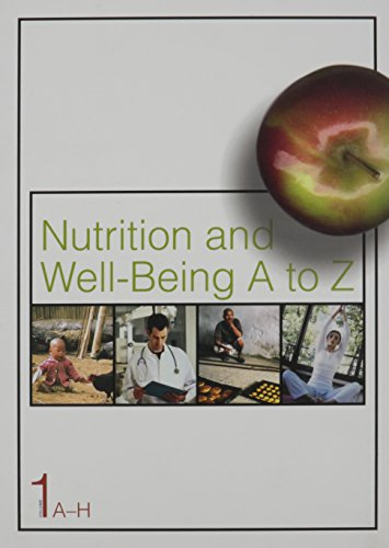 9780028657080: Nutrition and Well-Being A to Z: 1