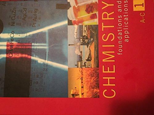 Chemistry: Foundations and Applications: J. J. Lagowski,