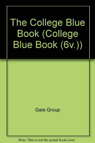 9780028657271: The College Blue Book (College Blue Book 6-Vol Set, 30th Ed)