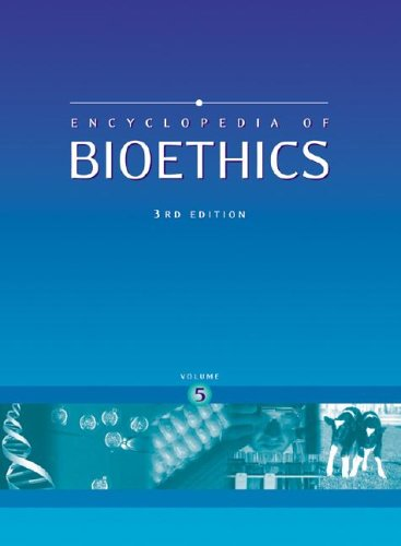 9780028657745: Encyclopedia of Bioethics (5 Volume Set)