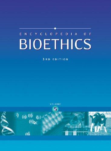 9780028657745: Encyclopedia of Bioethics