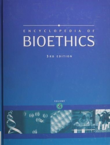 9780028657783: Encyclopedia of Bioethics, Vol. 4
