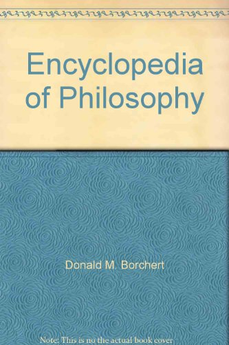 9780028657820: Encyclopedia of Philosophy