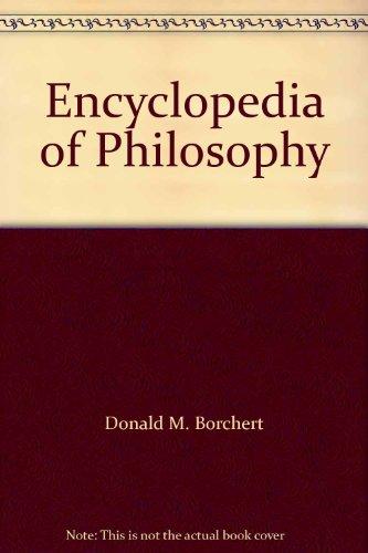 9780028657844: Encyclopedia of Philosophy