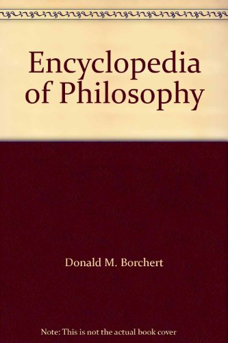 9780028657844: Encyclopedia of Philosophy