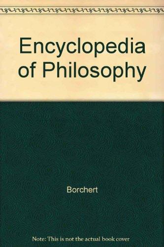 9780028657882: Encyclopedia of Philosophy