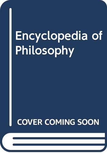 9780028657905: Encyclopedia of Philosophy