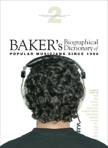 9780028657998: Baker's Biographical Dictionary of Popular Musicians Since 1990