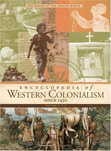 9780028658438: Encyclopedia of Western Colonialism Since 1450